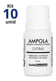 Kit 10 Ampolas Repair Revolution 15ml Saúde Garantida