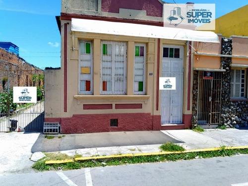 Casa A Venda No Bairro Centro Em Pelotas - Rs.  - 925-1