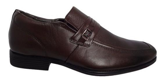 Sapato Social Couro Brown Ferricelli Frete Free 011337