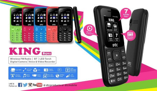 Celular Dtc King Pro B501 - Rádio Fm - Dual-sim - Verde