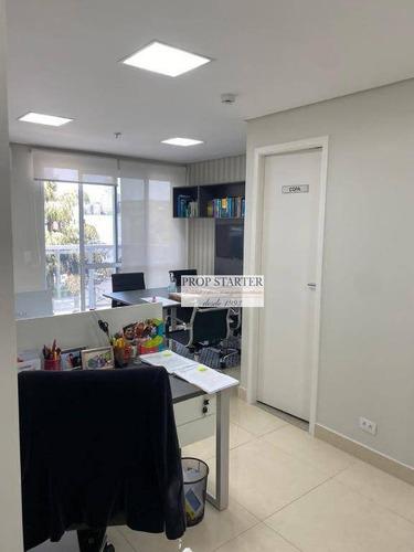 Imagem 1 de 10 de Conjunto À Venda, 27 M² Por R$ 350.000 - Paraíso - Prop Starter - Cj0065