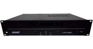Potencia Lexsen Lxa300 / 300w Rms (150+150) Promo!!