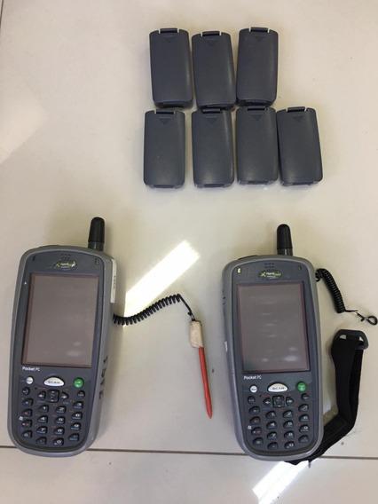 2 Pocket Pc Handheld Dolphin 7900 Sem Cabo Com Bateria Extra