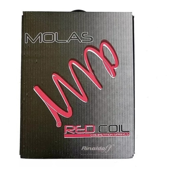 Molas Esportivas Red Coil Vw Golf/ Audi Aut Turbo 1.8 Rc902