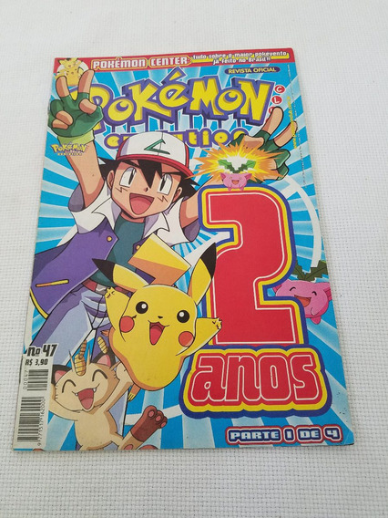 Revista Pokemon Club Evolution Nº 47