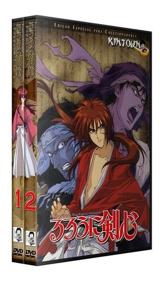 Dvds Samurai X Rurouni Kenshin Coleção Completa + Filmes