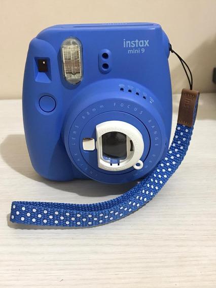 Câmera Instax Mini 9 Com 20 Fotos, Capa...