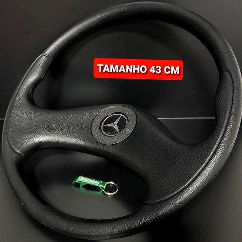 Volante De Caminhão Mercedes Benz Mb 1513 Hpn Black 43 Cm Vc
