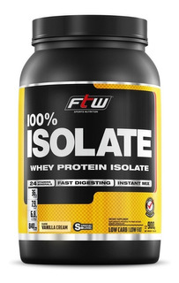 Whey Protein 100% Isolada Ftw® - 900gr