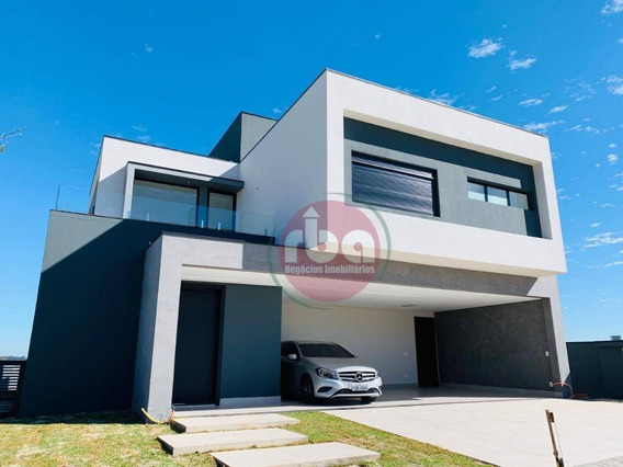 Casa Com 3 Dormitórios À Venda, 290 M² Por R$ 1.650.000 - Alphaville Nova Esplanada Iii - Votorantim/sp - Ca1689