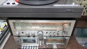 Conjunto Sony - Receiver Toca Discos Ps11bs, Tape Deck Tc-u2