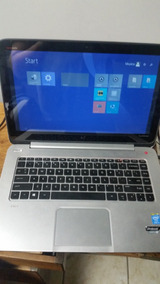 Notebook Hp Envy Touchsmart Ultrabook
