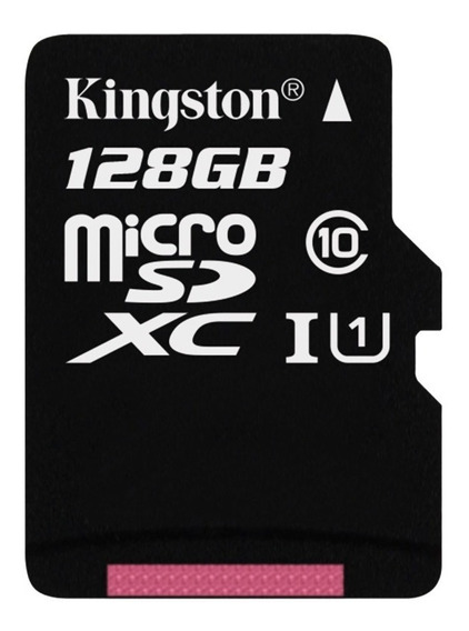 Micro Sd Xc Kingston Original 128gb Canvas Select