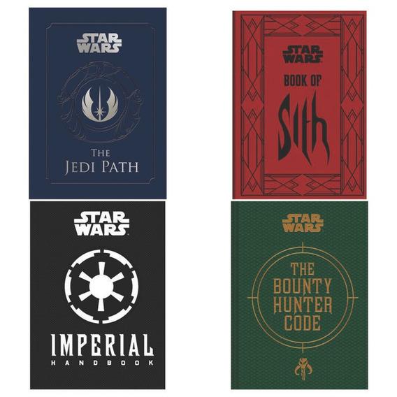 Colección Libro Star Wars 4 The Jedi Path Book Of Sith 2 Más