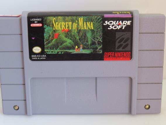 Ref. 184 Secret Of Mana Original Snes Super Nintendo