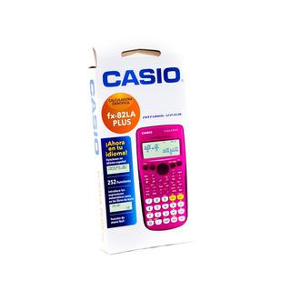 Calculadora Científica Casio Pink Fx-82la Plus-rosada