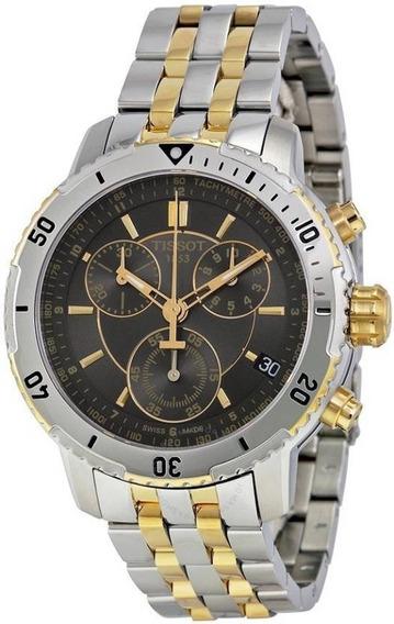 Relógio Tissot Prs 200 T067.417.22.051.00 Preto Dourado