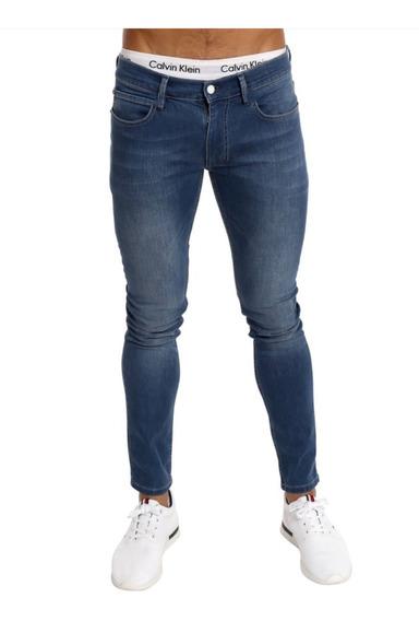 Calça Jeans Premium Masculina Skinny Com Lycra Offert