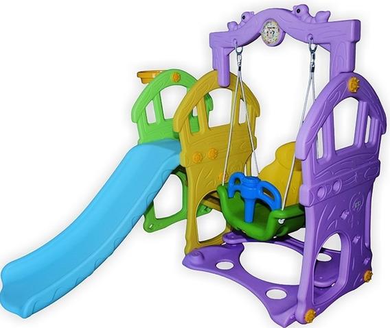 Brinquedo Escorregador Balanço Playground Parque Fret Grátis
