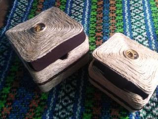 Cajas Artesanales Ecológicas