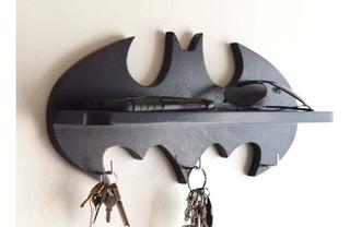 Portallaves Repisa Sala Batman Comics, Celular Cartera Auto