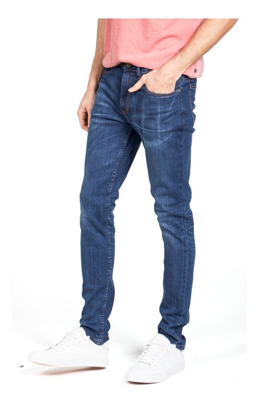 Jean Hombre Rusty Shelter Blue