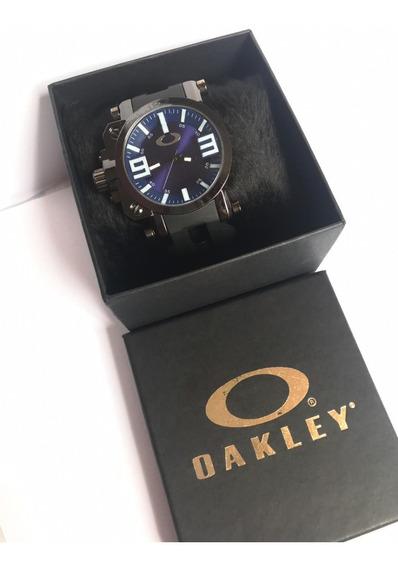 Relógio Oakley Vidro De Safira