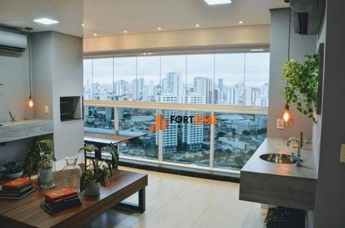 Apartamento Com 3 Dormitórios À Venda, 92 M² Por R$ 1.150.000,00 - Jardim Anália Franco - São Paulo/sp - Ap0183