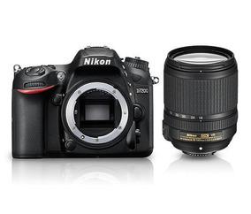 Câmera Nikon D7200 C/ 18-140mm