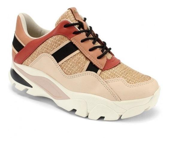 Tênis Dad Sneaker Chunky Dakota Color Block Plataforma Top