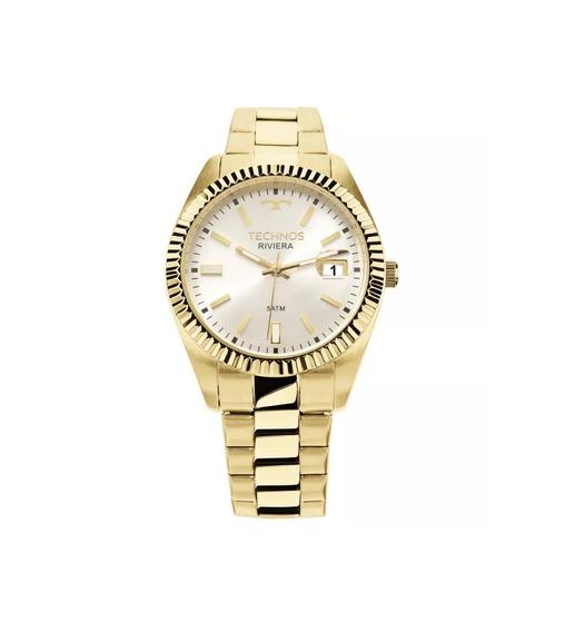 Relógio Technos Feminino Dourado 2115ktr4k