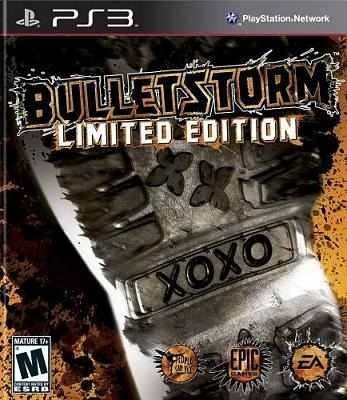 Bulletstorm Limited Edition - Ps3 - Lacrado - Original - Nf
