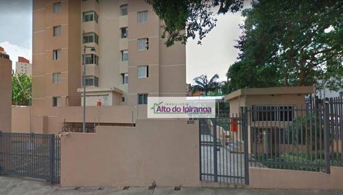 Apartamento Com 3 Dormitórios À Venda, 62 M² - Jardim Maria Estela - São Paulo/sp - Ap3364