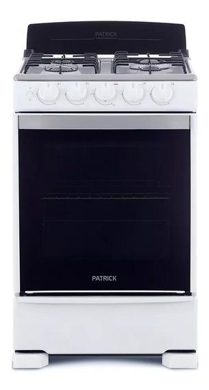 Cocina A Gas Patrick Cp6855b 4 Hornalla 55cm En Cuotas
