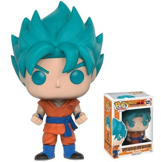 Funko Pop Goku Sanyan Blue - Dragon Ball Z - Comic - Anime