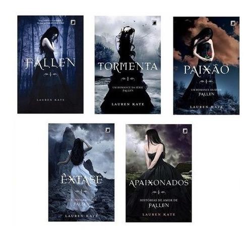Kit Livros Fallen - 5 Livros - Lauren Kate
