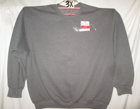 Sudadera Gris De Hombre Talla 3x Fruit Of The Loom