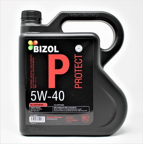 Imagen 1 de 4 de Aceite Sintético 5w-40 Hc - Bizol (4 Litros)