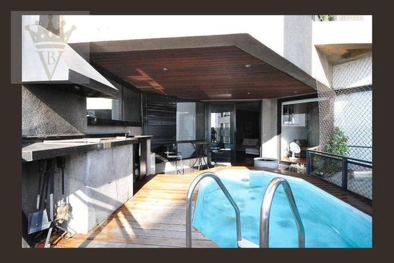 Apartamento Loft Para Venda E Locação No Morumbi, 82m², 1 Dormitório, 2 Garagens Com Depósito - Lf0002