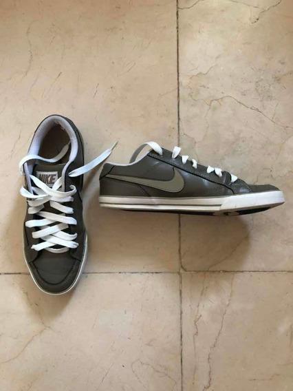 Sapatênis Masculino Nike Em Couro