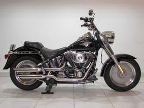 Harley Davidson Fat Boy - 2004 Preta