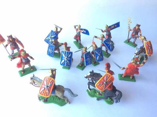 Soldados Romanos Gladiadores 1 Soldaditos De Plástico