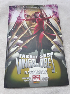 Hq - Fabulosos Vingadores - Ragnarok - Capa Dura