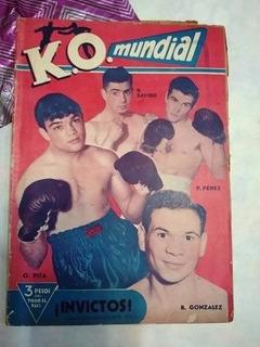 Ko Mundial 63 N. Sabino O. Pita R. Gonzalez Y Pascual Perez