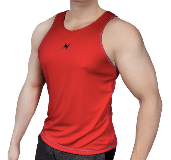 Playera Gym Tank Top Hombre Sin Mangas Crossfit Nemi.fit