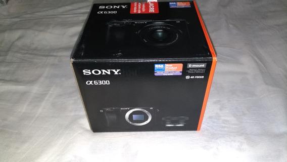 Câmera Fotográfica Sony A6300 Lente 16-50