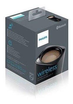Caixa De Som Bt100 Sem Fio Portátil Bluetooth Philips