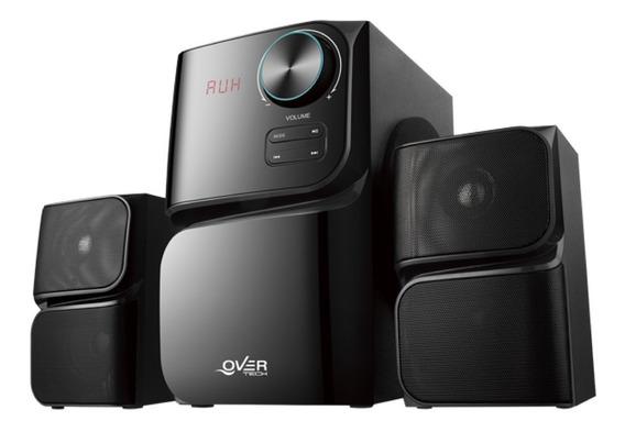 Parlante Overtech 2.1 Ov-113a 680w Bluetooth Fm Pce