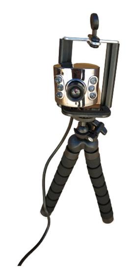8 Webcam Para Notebook Samsung Rv411 Rv415 Rv419 Rv4 C/ Leds