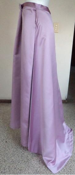 Falda Color Lila Con Cauda Incluida Talla M Fag381